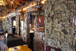 Money Wall at Cabbage Key