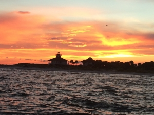 Boca Grande Lighthouse at Sunset